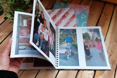 Spiralli Foto Kitap